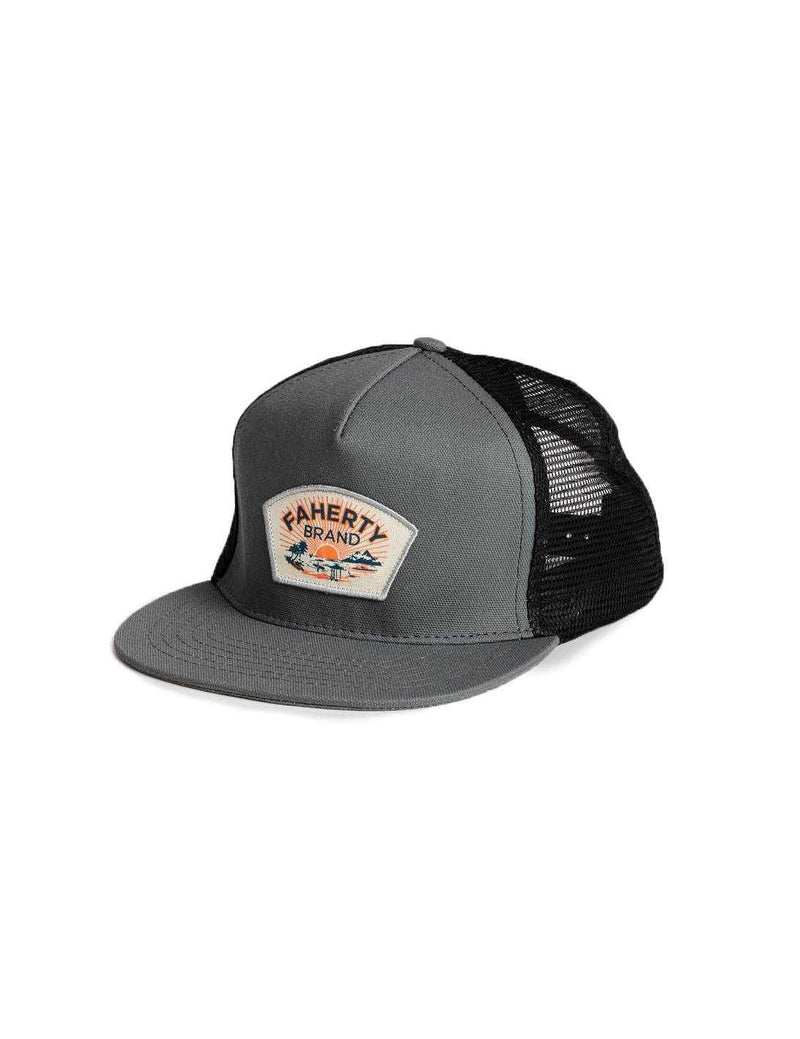 5-Panel Trucker - Steel Grey/Black