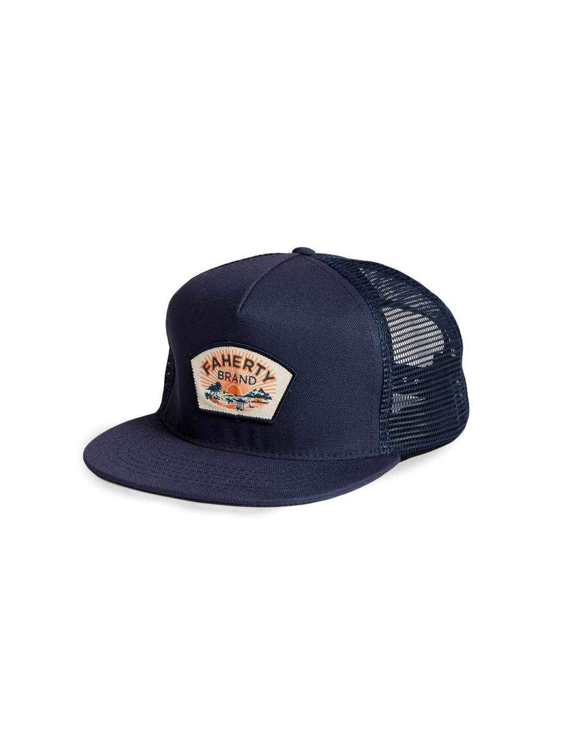 5-Panel Trucker Hat - Navy