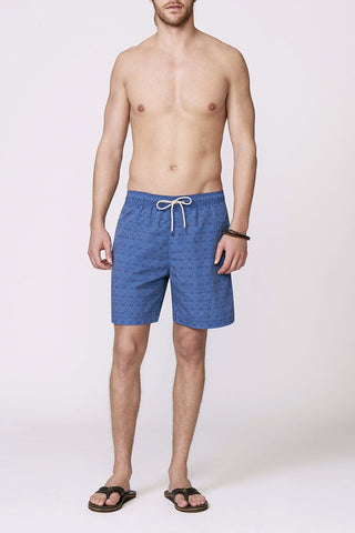 Beacon Trunk - Ocean Breeze Tribal Blue