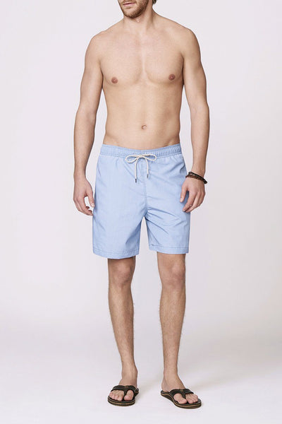 light blue men's swimsuit