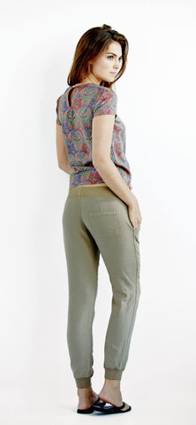 Airlie Day Pant - Military Olive