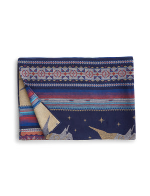 Adirondack Blanket - Midnight Buffalo