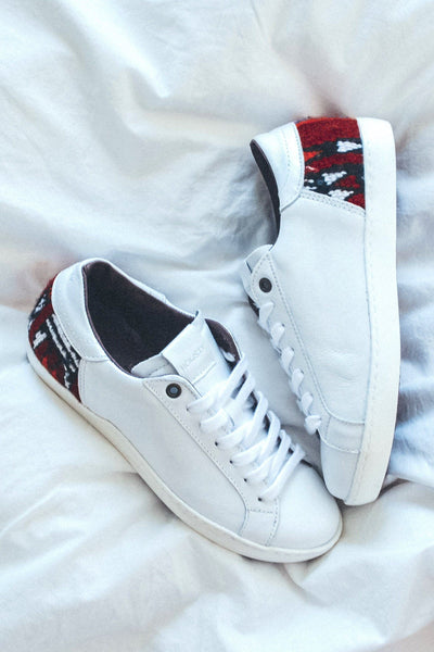 Howsty Embroidered Zia Sneaker - White
