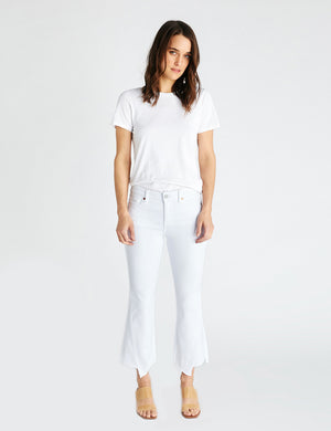 Etica x Faherty Micki Crop - White