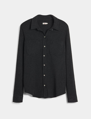 Legend Sweater Shirt - Heathered Black Twill