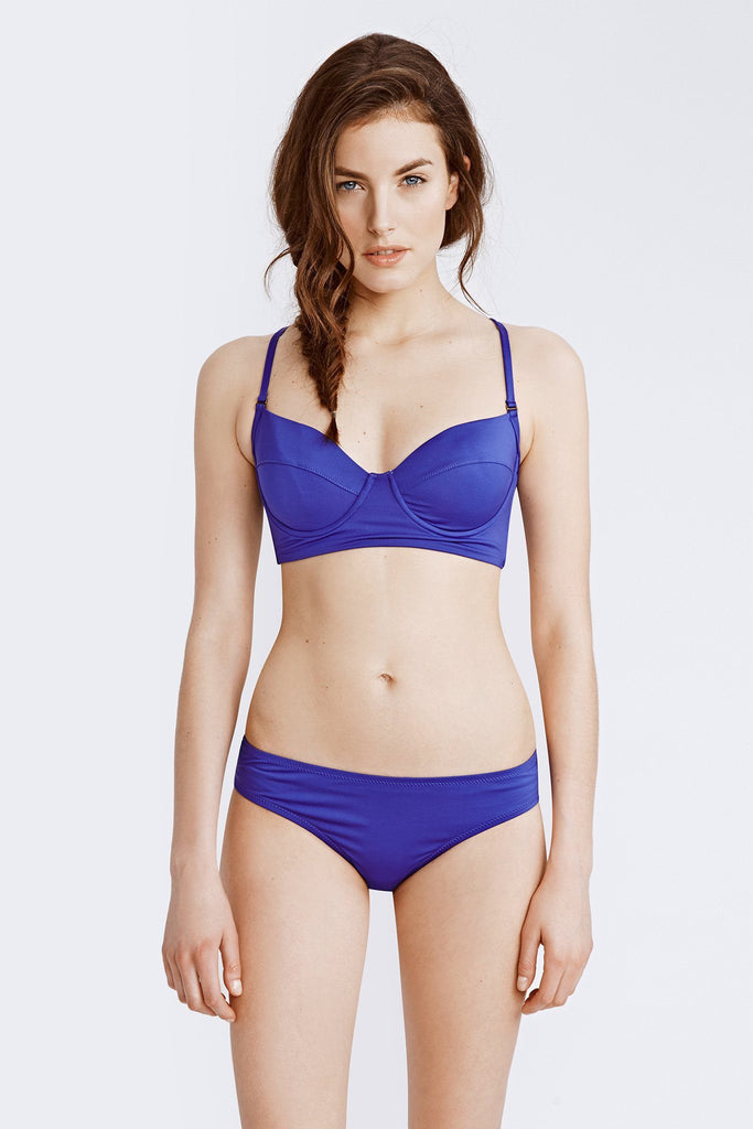 Cami Underwire Top - Royal Purple
