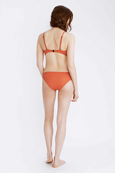 orange bikini bottom back