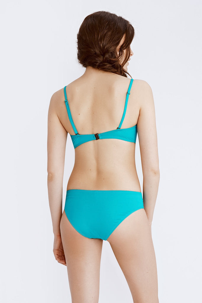 Convertible Bra Top - Aegean Turquoise