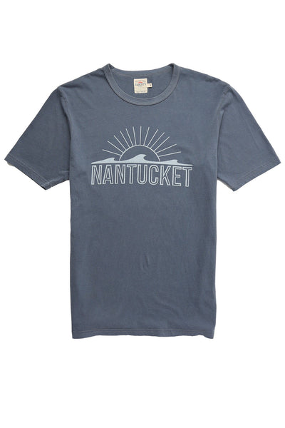 Faherty x Goodlife Beach Tee - Navy Nantucket