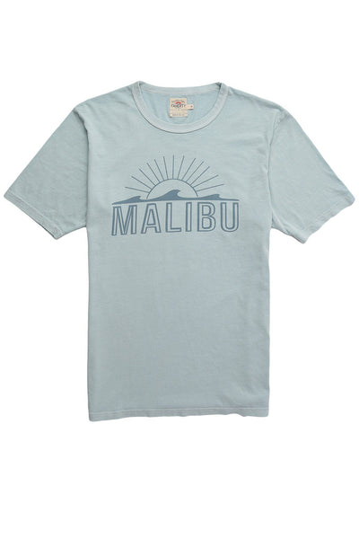Faherty x Goodlife Beach Tee - Light Blue Malibu