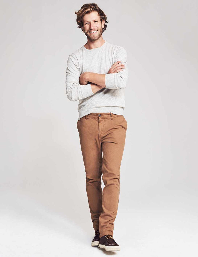 Stretch Canvas Trouser - Weir Brown