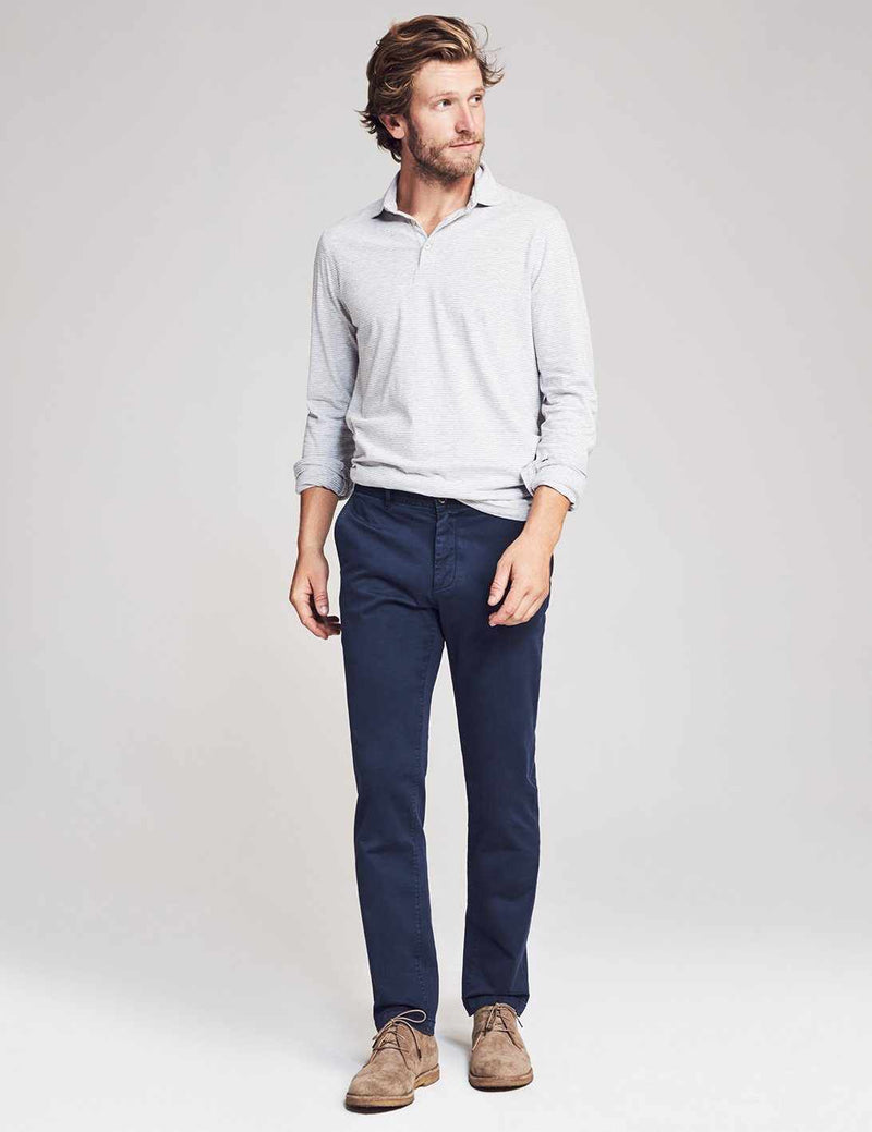 Reserve Sueded Trouser - Navy
