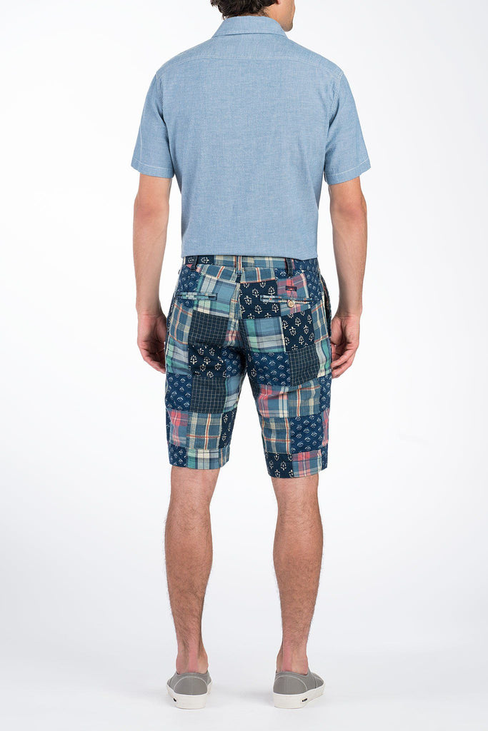 Madras Coastal Short - Patchwork
