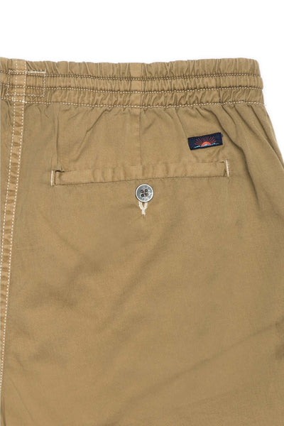 Elastic Waist Short - Dusty Khaki