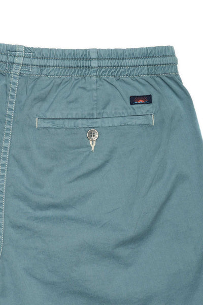 Elastic Waist Short - Faded Navy
