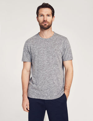 Short-Sleeve Heather Tee - Charcoal