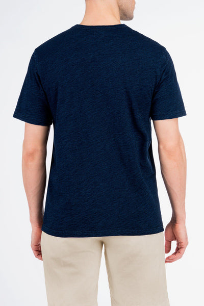 Indigo Pocket Tee - Dark Wash Indigo