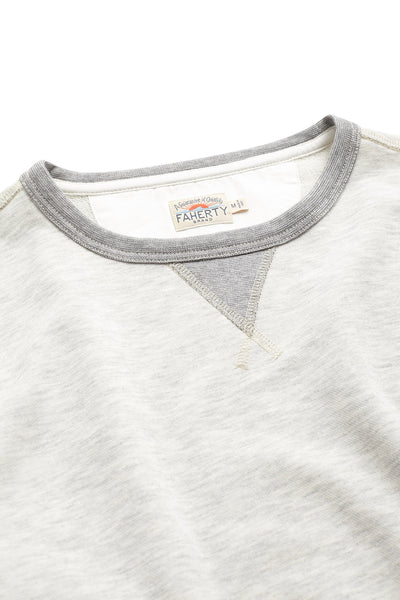 French Terry Crewneck - Athletic Grey