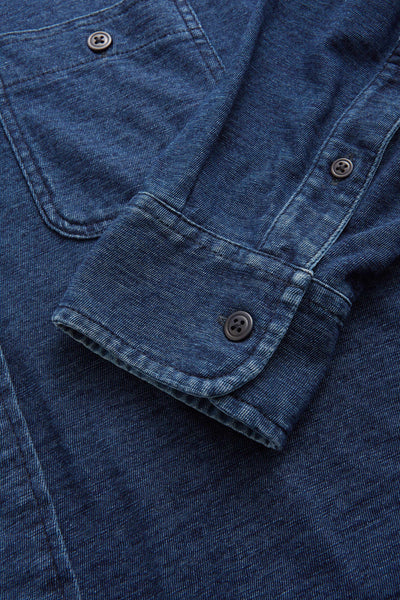 Knit Seasons Shirt - Dark Indigo Wash