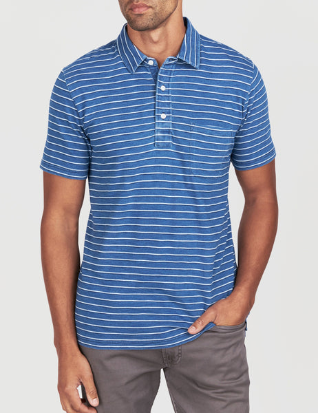 Polo - Evening Horizon Stripe