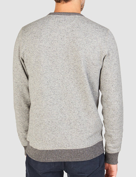 Heritage Fleece Crewneck - Heather Grey