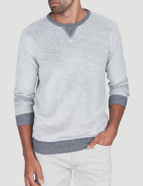 Crewneck Sweatshirt - White Loop