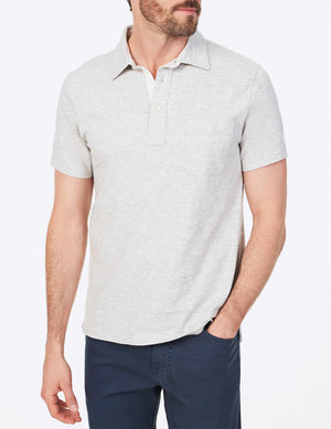 Bleecker Polo - Grey Heather
