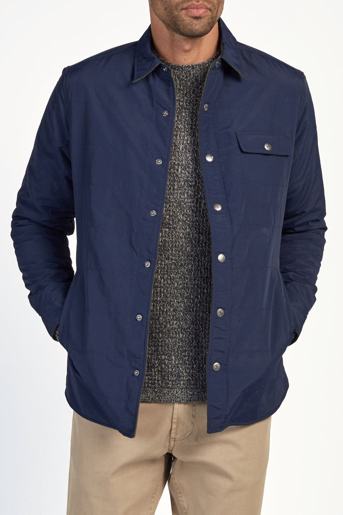 Reversible Morning Tour Jacket - Navy/Olive