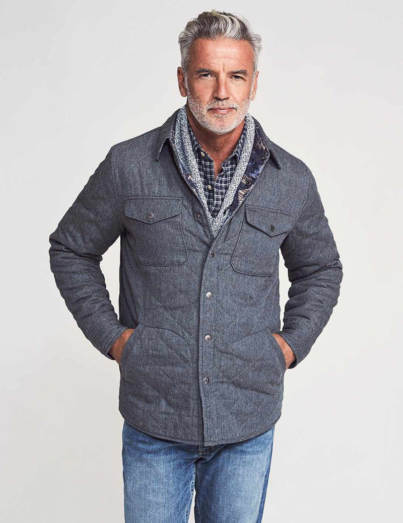Reversible Bondi Jacket - Evening Ridge