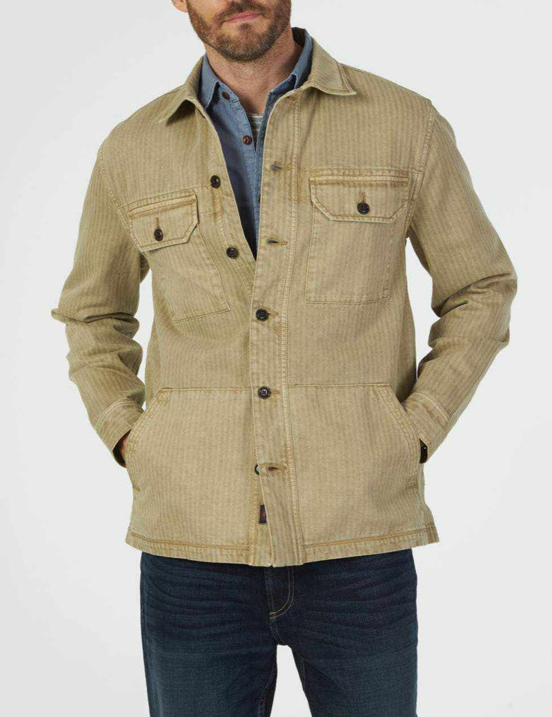 Garment Dyed Corporal Jacket - Tan