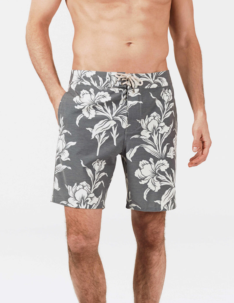 Beacon Trunk - Black Floral