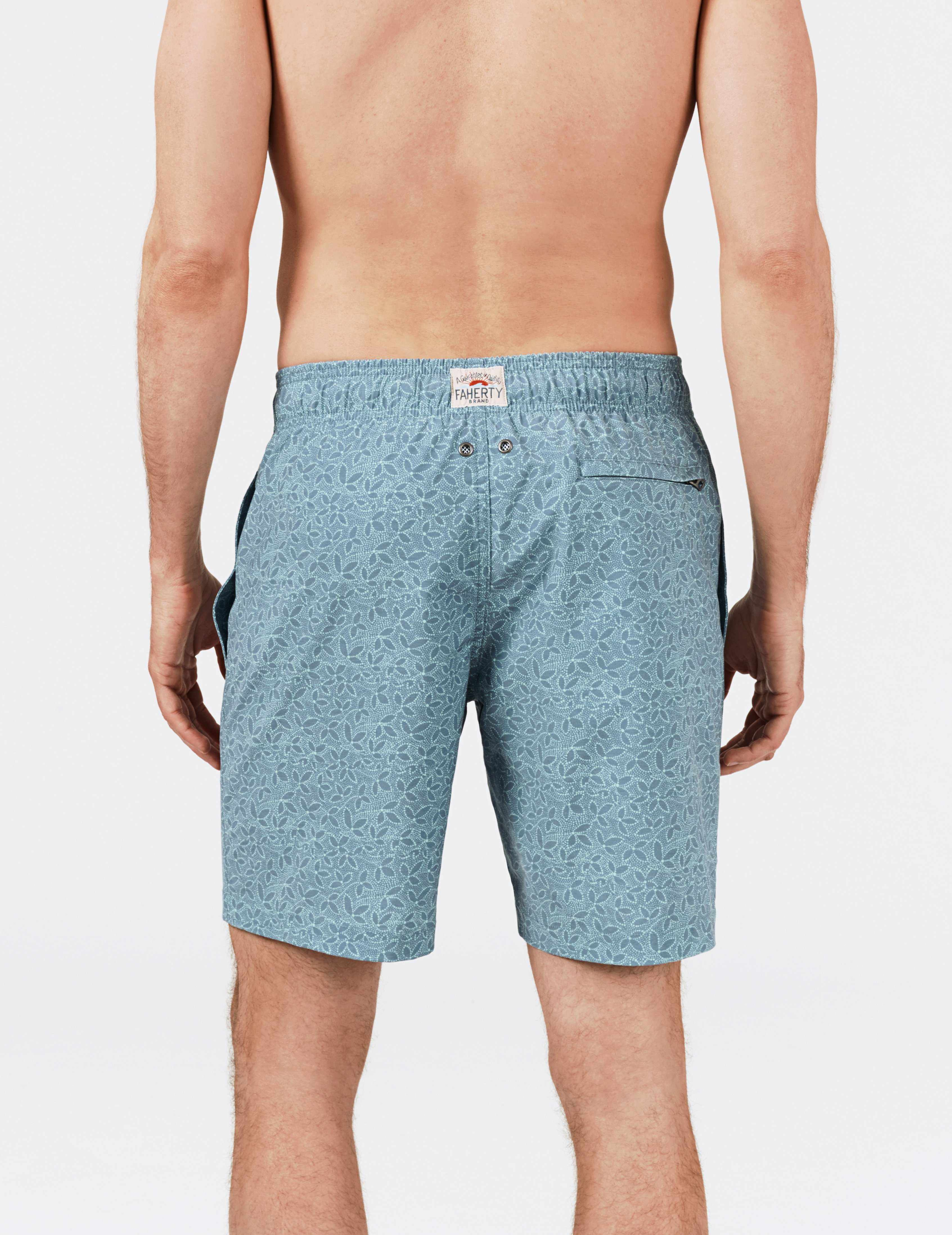 Beacon Trunk - Teal Ivy