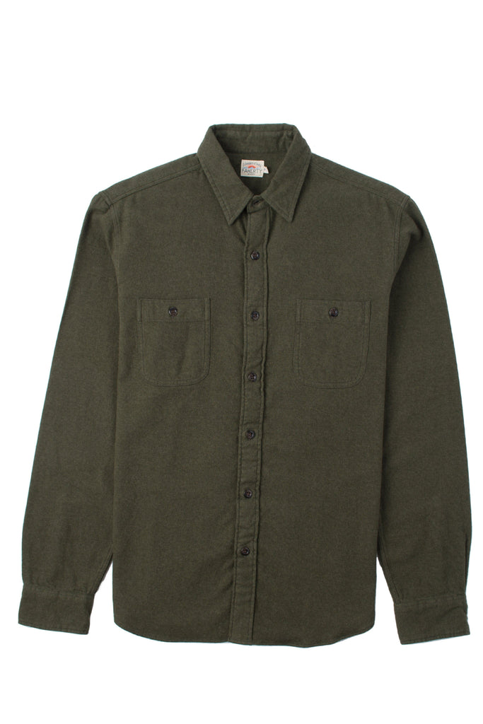 Brushed Alpine Flannel - Hunter Green