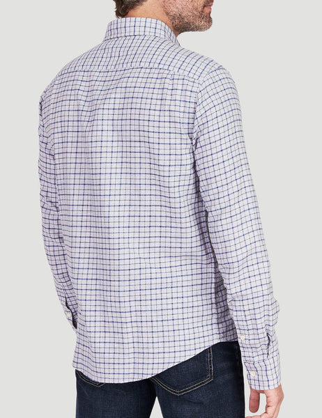 Pacific Shirt - Heather Grey Windowpane