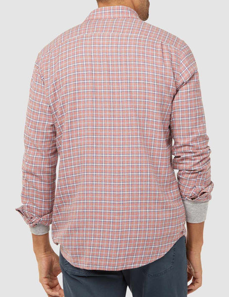 Pacific Shirt - Heather Red Multi