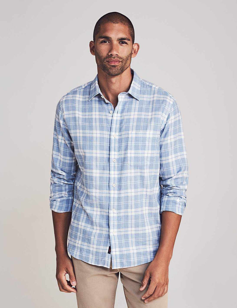 Everyday Shirt - Steel Heather Plaid
