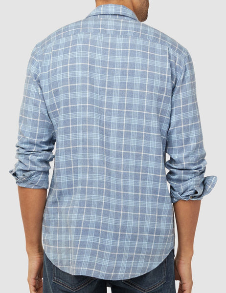 Pacific Shirt - Light Blue Melange