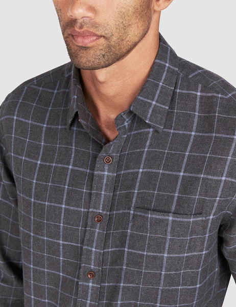 Pacific Shirt - Black Windowpane