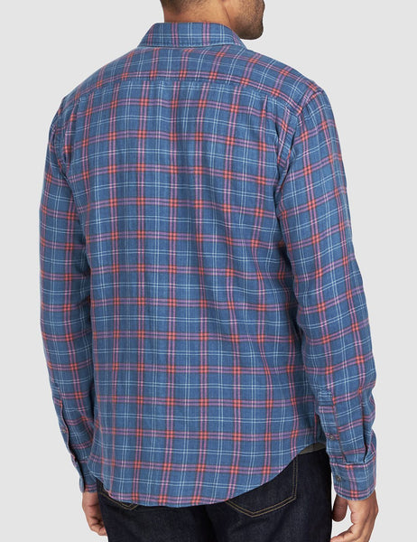 Seaview Shirt - Indigo Blue Melange