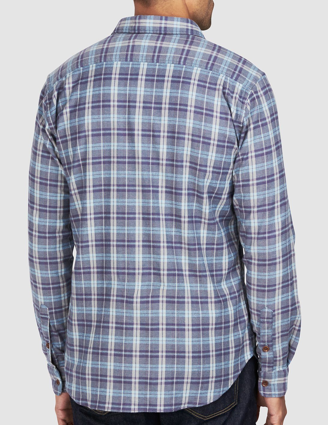 Stretch Seaview Shirt -Dark Blue Grey