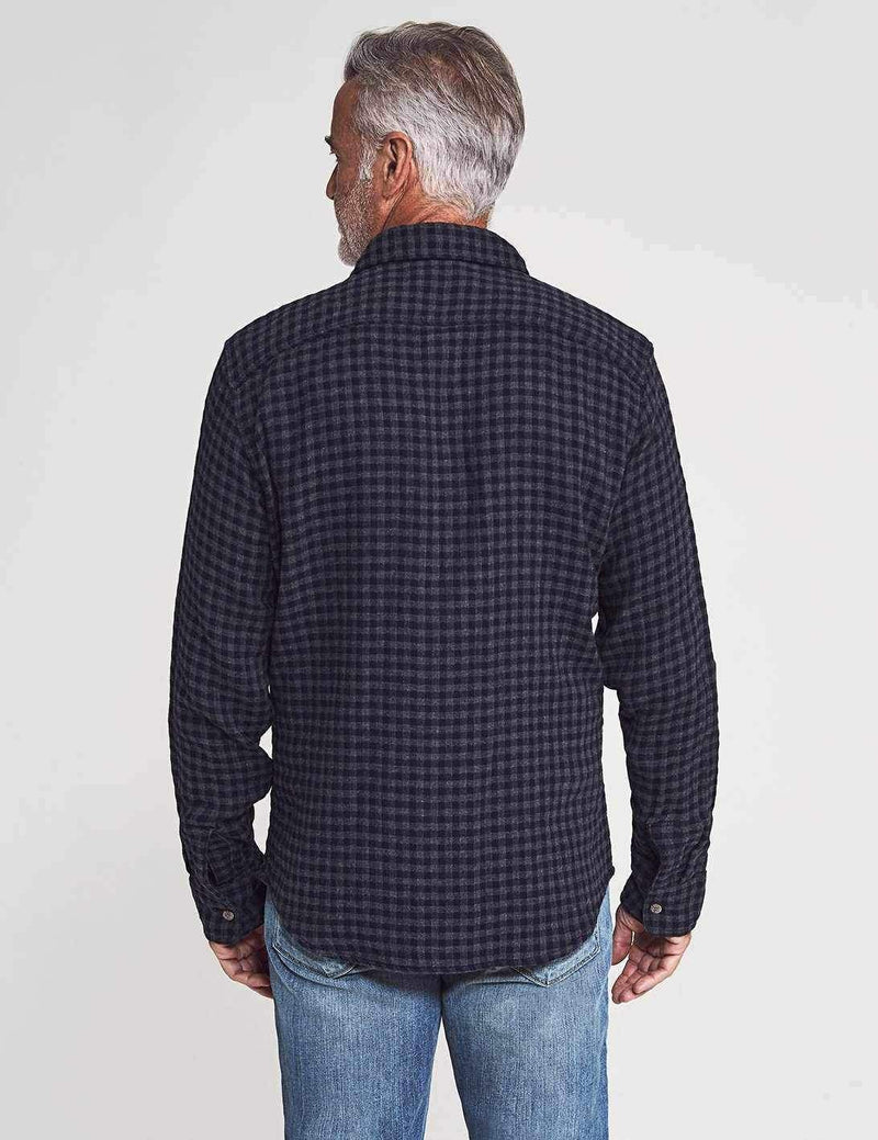 Charcoal Navy Check