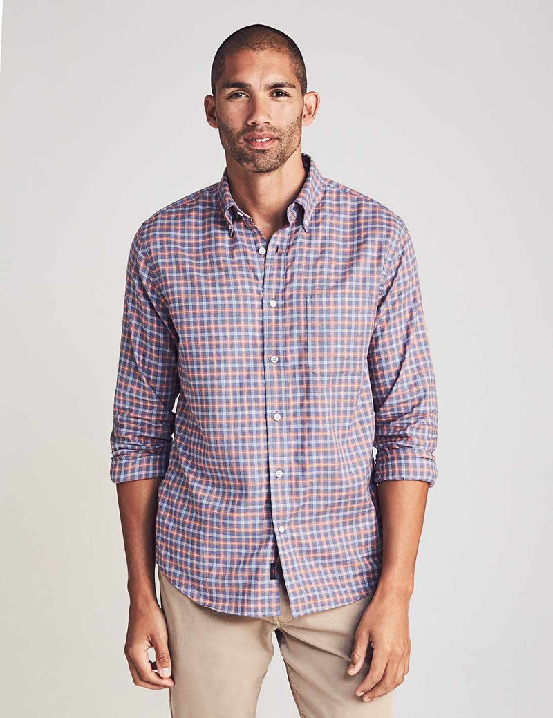 Everyday Button-Down Shirt - Lanai Sunset Check