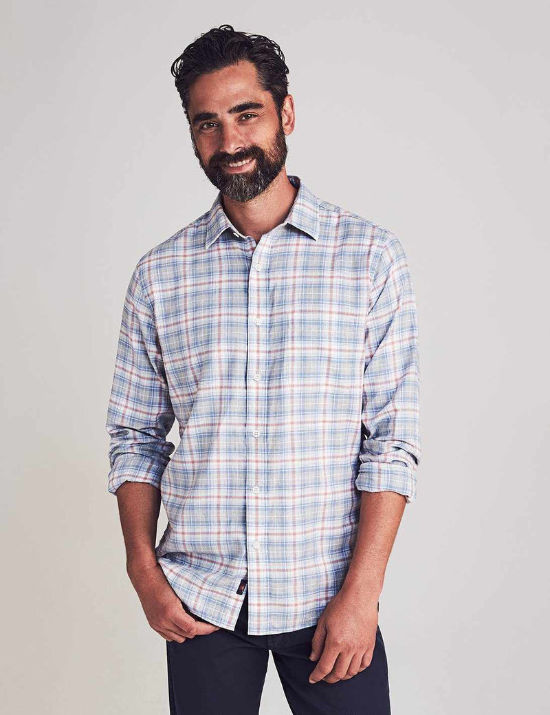 Everyday Shirt - Marin Coast Plaid