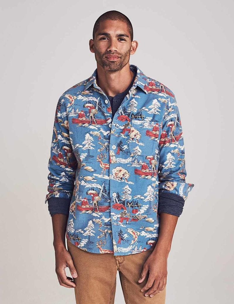 Great Outdoors Shirt - Vintage Woodsman