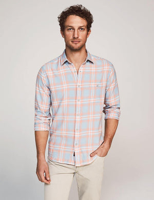 Seaview Shirt - Sun Coast Plaid