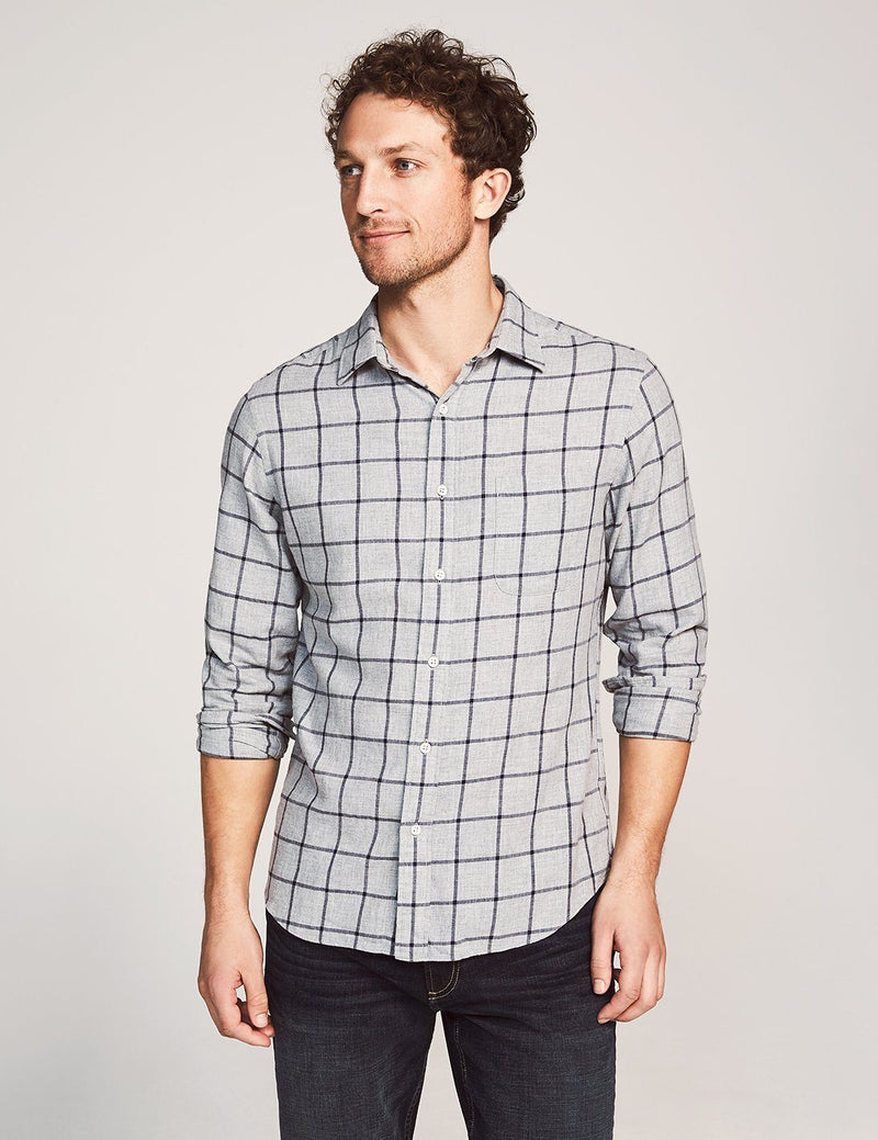 Everyday Shirt - Grey Windowpane