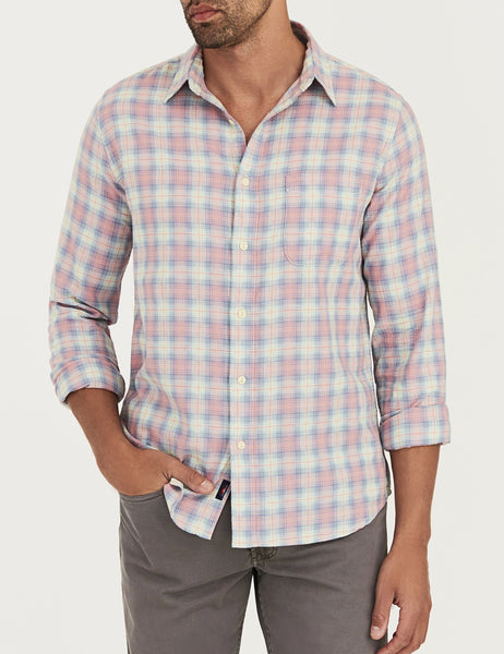 Ventura Shirt - Pink Multi Plaid