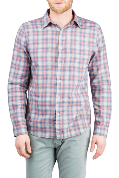 Ventura Shirt - Pink Plaid