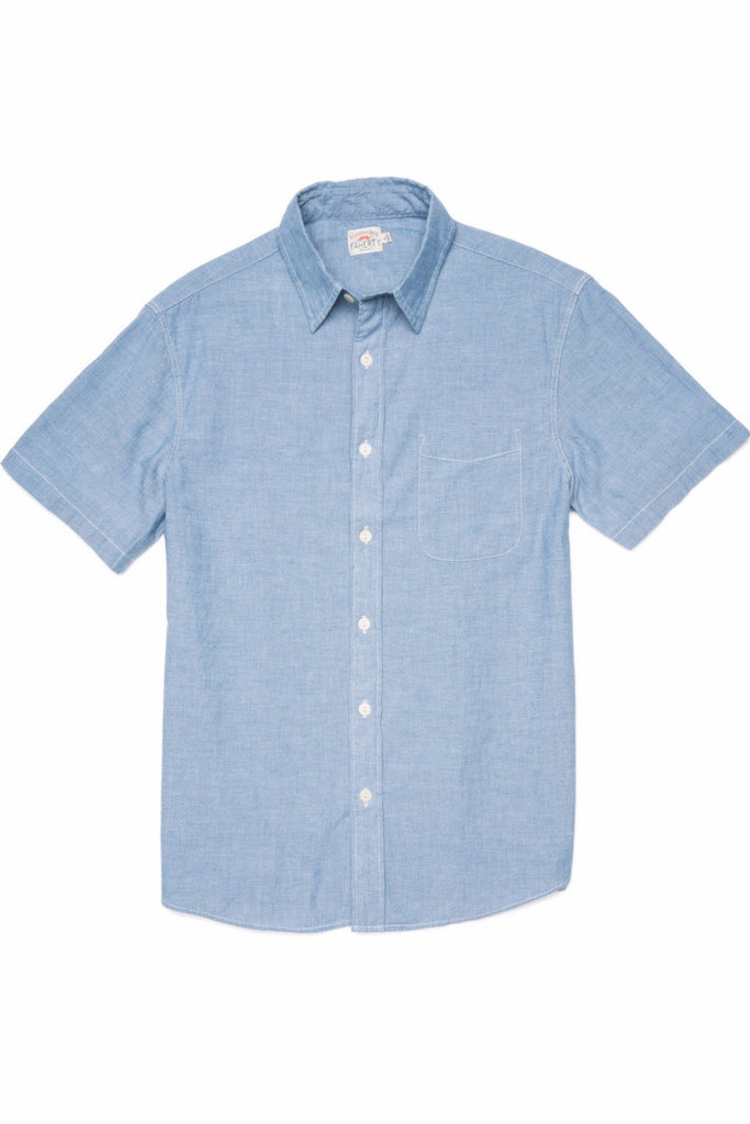 SS Ventura Shirt - Blue Chambray