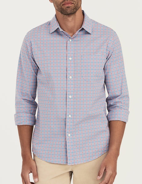 Ventura Shirt - Blue & Red Check